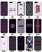 Чехол премиум качества с принтом в стиле Gucci Гуччи для Iphone 7 8 7Plus 8Plus