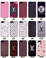 Чехол премиум качества с принтом в стиле LV Louis Vuitton для Iphone 7 8 7Plus 8Plus