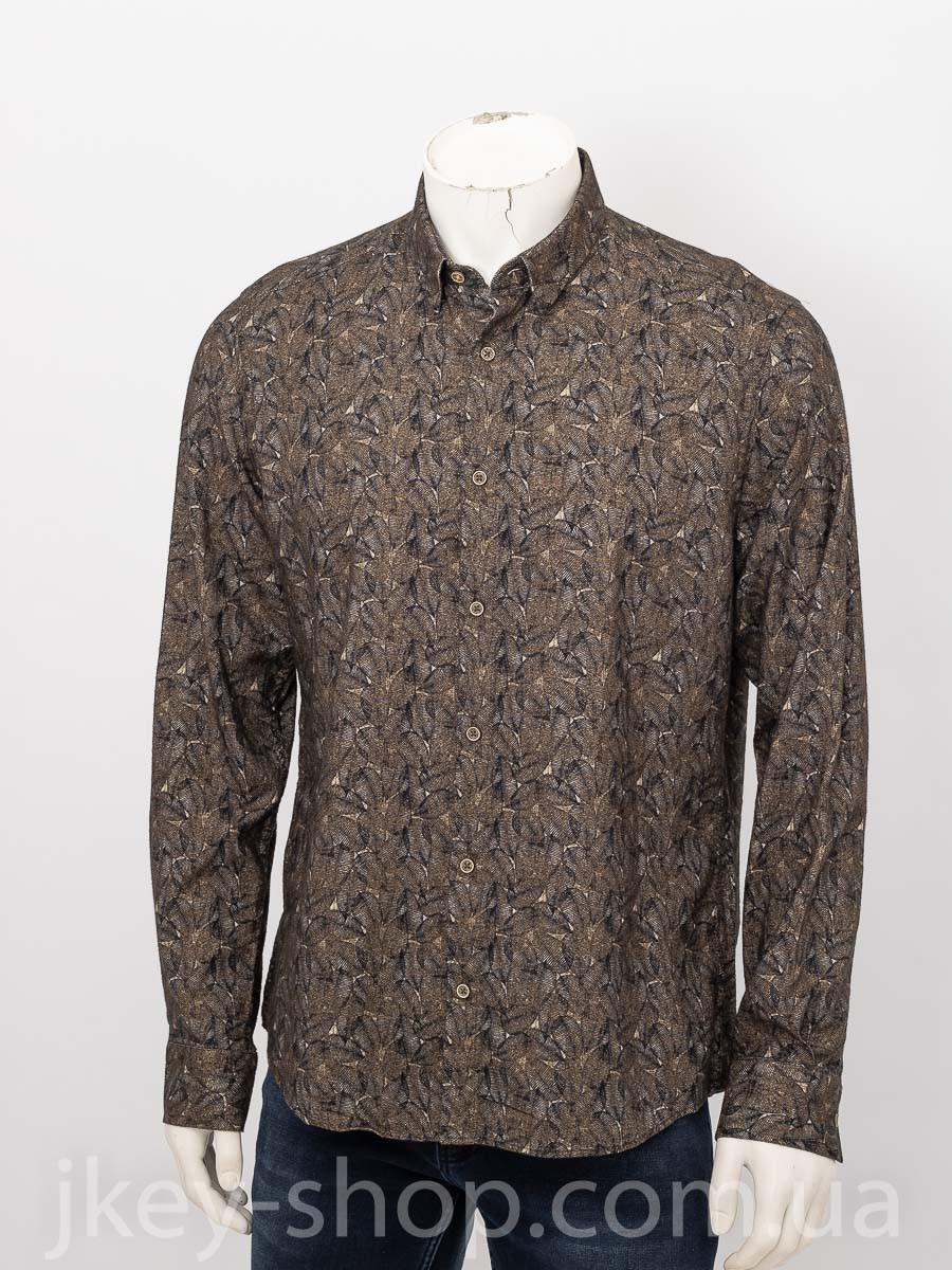 Рубашка с длинным рукавом мужская XINT 700753 HAKI