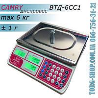 Торговые весы Camry Днепровес ВТД-6СС1