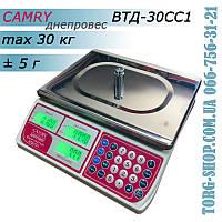 Торговые весы Camry Днепровес ВТД-30СС1