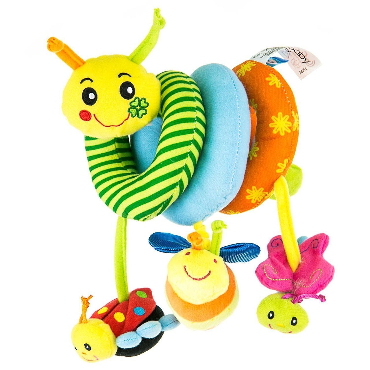 Развивающая игрушка-спираль Счастливая Улитка ТМ  Mioobaby