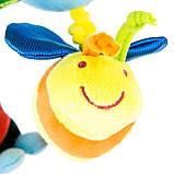 Развивающая игрушка-спираль Счастливая Улитка ТМ  Mioobaby, фото 4