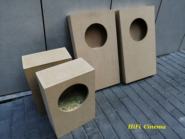 Acoustic box 6,5 inch