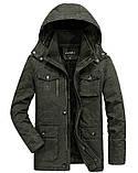 FS original 100% хлопок Мужская куртка еврозима джип парка, фото 2