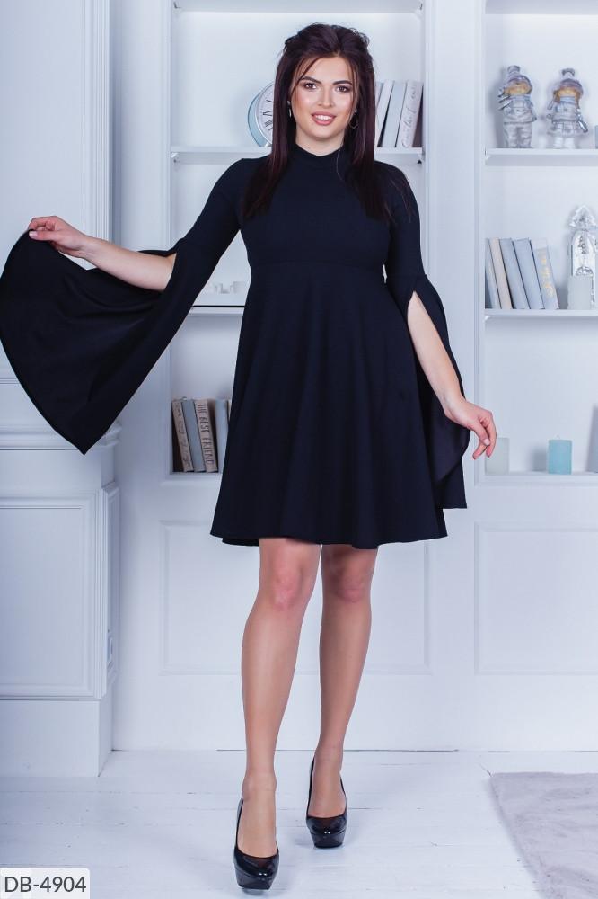 """Платье женское креп дайвинг  (50-52;54-56) """"Chilado"""" 2P/NS-2030"""