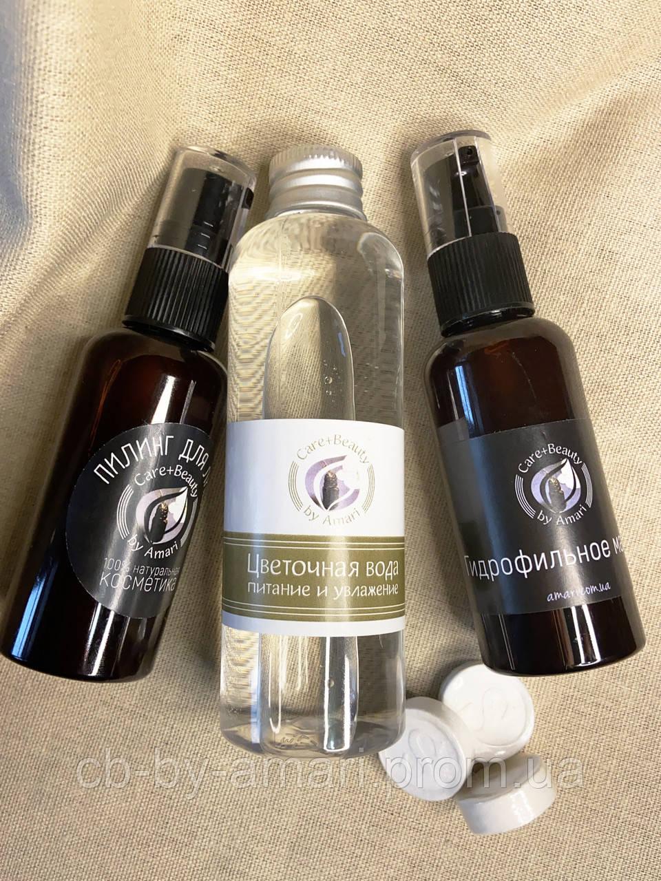Набор для жирной и комбинированной кожи «Очищение и увлажнение»