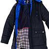 Зимняя куртка пуховик для мальчика размеры 140-158, фото 6