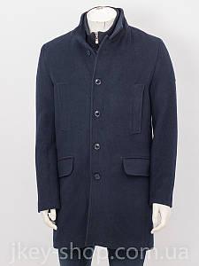 Пальто мужское ZEN-ZEN 00759 LACIVERT