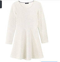 Стильное платье на девочку из плотного трикотажа
