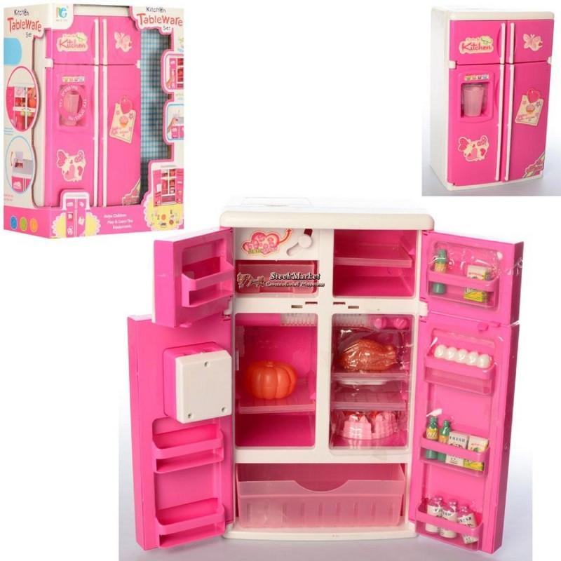 Мебель для кукол 3590 холодильник 19х31х13см
