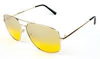 Водительские поляризационные желтые очки