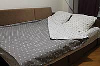 Комплект постельного белья Звезды V1 (двуспальный)