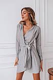 Платье женское вечернее серебро, розовый, чёрное золото, 42-44, 46-48, фото 6
