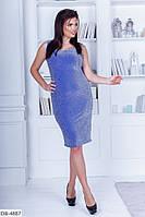 """Платье женское люрекс  (48-50;50-52;54-56) """"Chilado"""" 2P/NS-2030"""