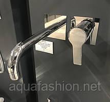 Встроенный смеситель для раковины из стены Fiore Katana 77CR7527