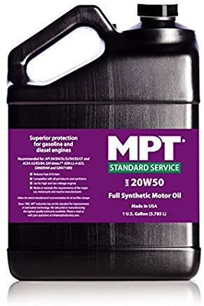 MPT ® 20W-50 Standart Service Full Synthetic Motor Oil
