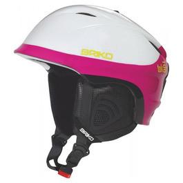 Шолом гірськолижний Briko Tok 100m white pink розмір - 58 см