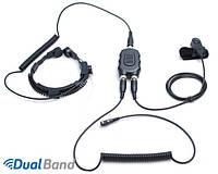 Kenwood LVA-333175-KPD - профессиональный тактический ларингофон для портативных раций