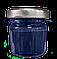 Краска крем для гладкой кожи 50 мл темно-синяя bsk-color, фото 2