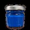 Краска крем для гладкой кожи 50 мл голубая bsk-color, фото 2