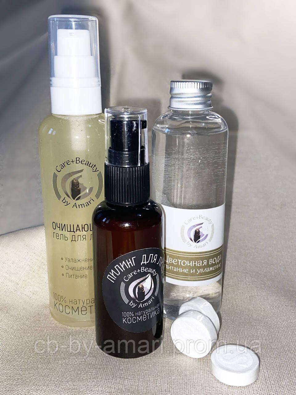 Набор для сухой, а также увядающей кожи «Очищение и увлажнение»