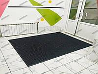 Ковер грязезащитный Рубчик-16 черный 100х180см