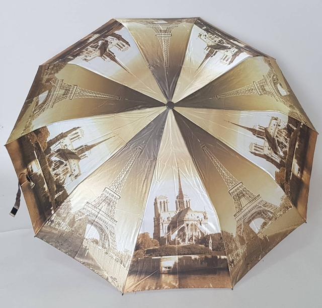 фотография женский зонт с атласным куполом