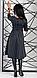 Очаровательное женское платье миди в клетку, фото 5