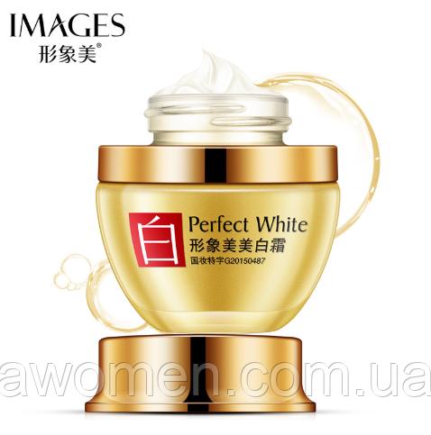 Крем для лица Images Perfect White осветляет и выравнивает тон лица 50 g (мятая коробка!)