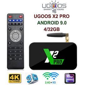 TV-Приставка Ugoos X2 Pro 4GB/32GB (Android Smart TV Box)