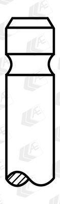 Впускной клапан HYUNDAI / FIAT / DALLAS / CITROEN / FSO / LADA / ROVER / TALBOT / TOYOTA / SUZUKI