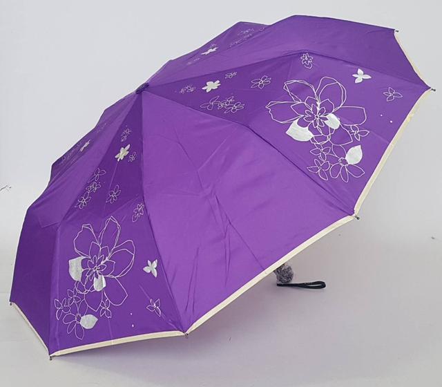 фотография женский зонт с цветком