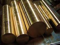 Круг бронзовый 120 БрАЖ9-4, БрОЦС-555