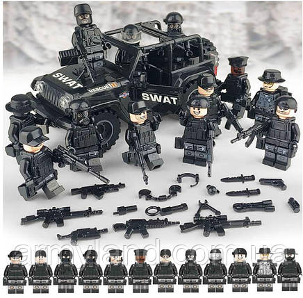 Военная полиция на джипе SWAT BrickArms, фото 2