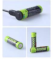 Акумулятор 18650 3500 мАч з micro-usb Liter №1002, фото 1