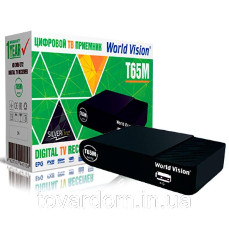 Цыфровой тюнер World Vision T65M