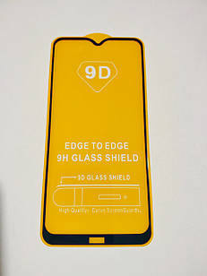 Захисне скло 9D для Xiaomi Redmi 8A Full Glue Чорне