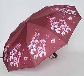 Складной женский зонт «Орхидея» в расцветках (10 спиц)
