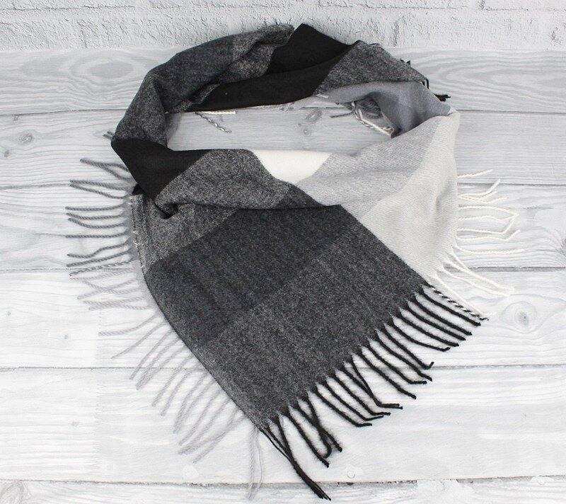 Кашемировый платок в клетку Cashmere 7980-5