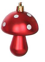 Украшение декоративное пластиковое в асс. 8 см, цвет красный, House of Seasons, фото 2