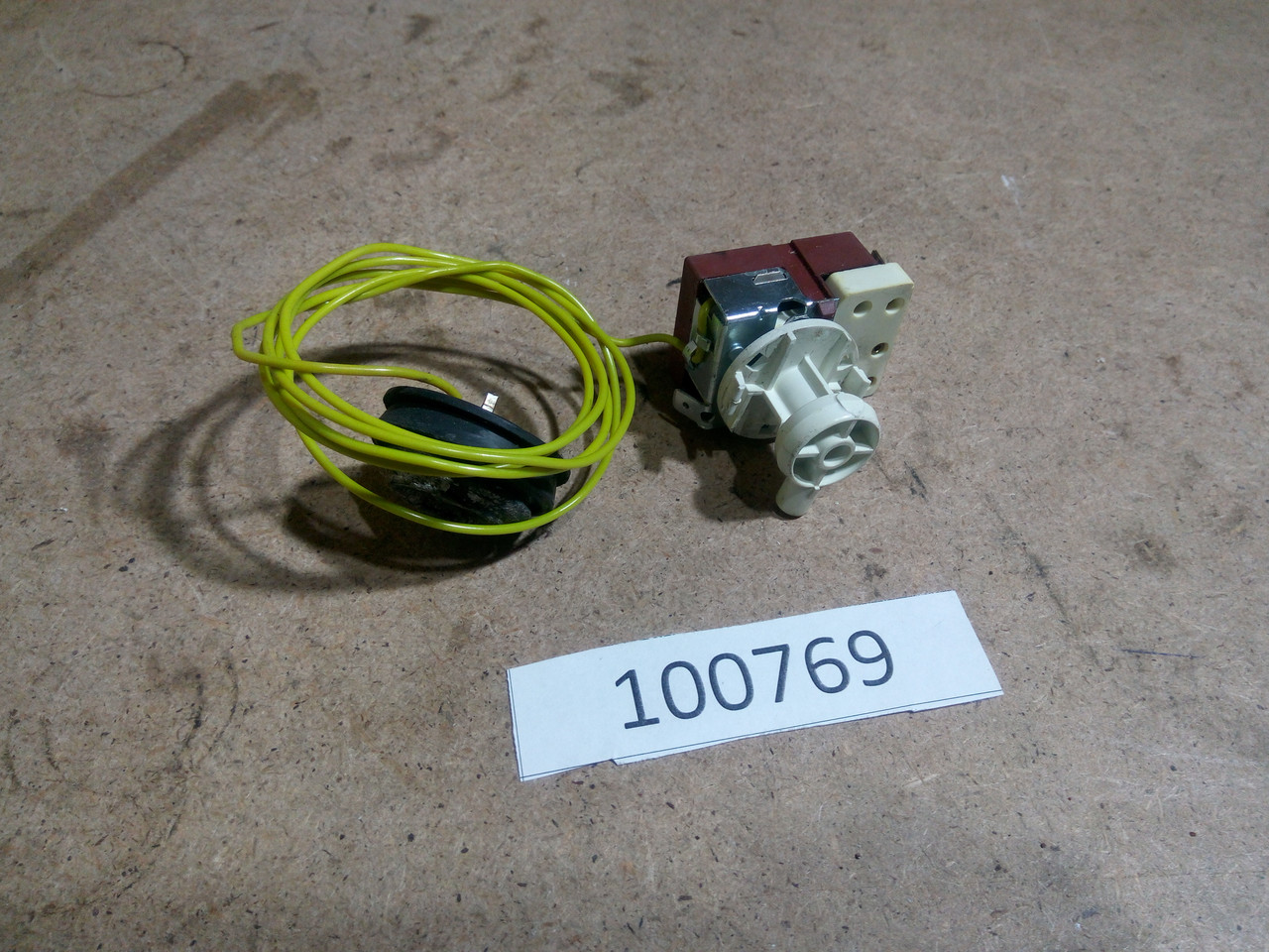 Термостат з датчиком температури Zanussi TA833V. 146305302 Б/У
