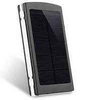 Солнечное зарядное устройство Power Bank 25000 mAh , портативное зарядное на солнечной батарее