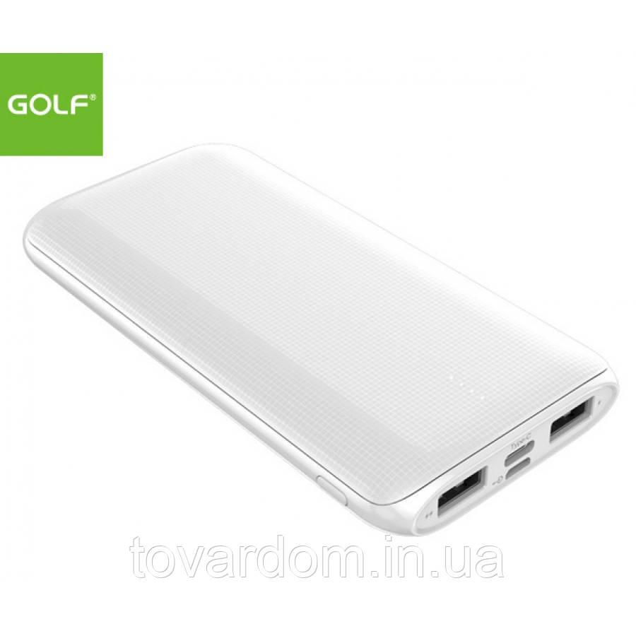 Внешняя батарея Power Bank Golf  10000 mAh