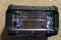 Светодиодная фара LED Combo дальний+ближний Cree 72W 133*80*60mm прямоугольная(3W*24) Корея 3P 72W (1шт)