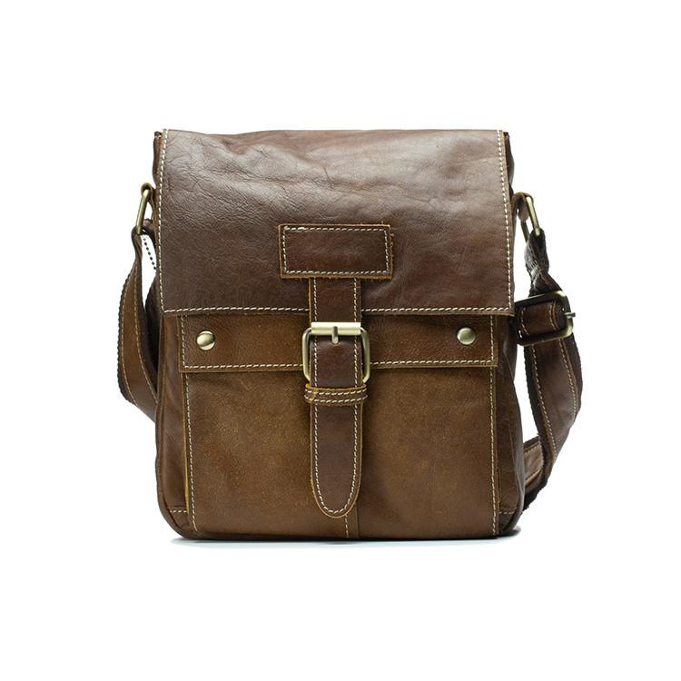 Классическая кожаная мужская сумка Marrant, фото 1