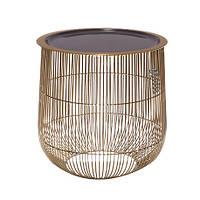 Столик декоративный серый s 31 см 109490-1