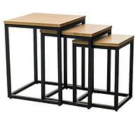 Комплект журнальных столиков CS-10 Лофт,скандинавский стиль