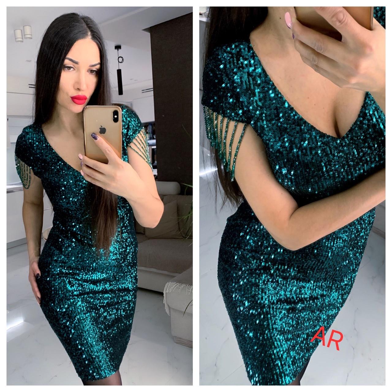 Вечернее платье.Размер 42/44 и 44/46 Цвета разные (5082)