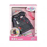 Джинсовий одяг для ляльки Baby born Zapf Creation 822210, фото 1